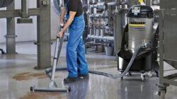 Уборка промышленных помещений